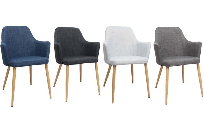 chaises scandinaves rambo - Chaise Accoudoir Scandinave
