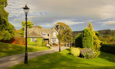 Lake District: 1 Night for Two with Breakfast, FourCourse Dinner and Spa Access at 5* Broadoaks Country House