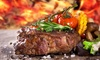 Wildfire Steakhouse & Wine Bar - Multiple Locations: Four-Course Prix-Fixe Dinner for One, Two, Four, or Six at Wildfire Steakhouse & Wine Bar (Up to 42% Off)