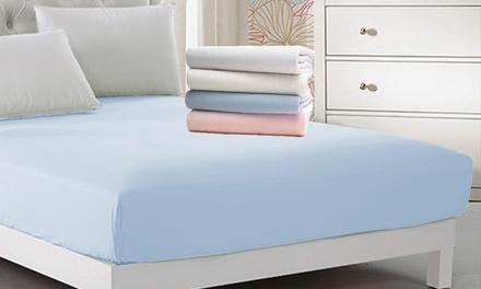 Coprimaterasso singolo Jersey elasticizzato 100% Cotone disponibile in diversi colori