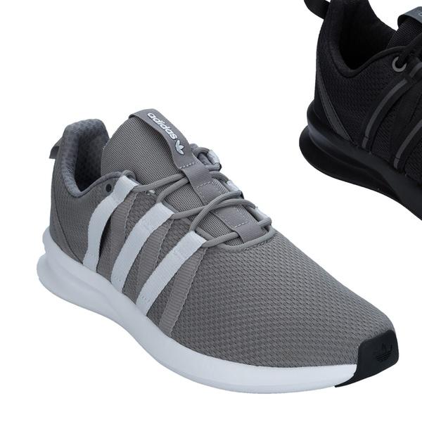 half off 80684 efa3c Adidas Originals Loop Racer Trainers Black or Grey