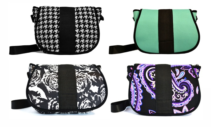 NuPouch Mini Messenger Crossbody Purse: NuPouch Mini Messenger Crossbody Purse