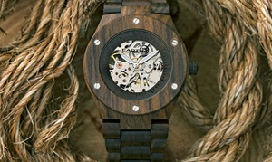 Earth Wood Grand Mesa Automatic Unisex Watch Collection