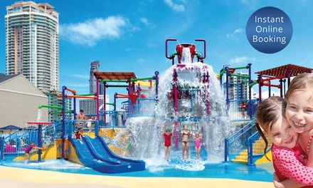 Gold Coast: 3 or 5Night Stay for Up to 2 Adults and 3 Children with Breakfast and Kids' Club Entry at Paradise Resort