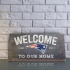 "NFL ""Welcome to Our Home"" 6""x12"" Sign"