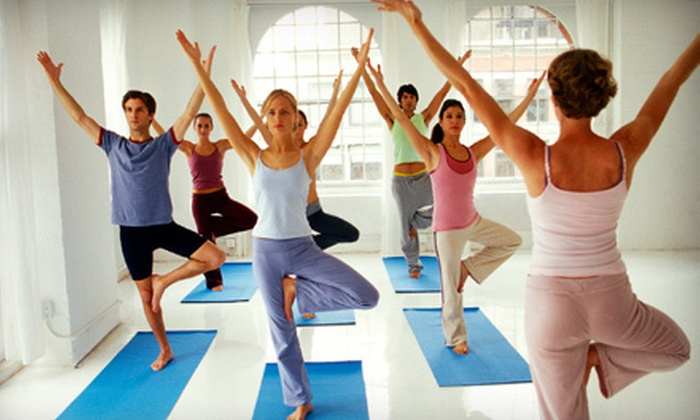 Clifton Park e studio hot yoga - Clifton Park: 5 or 10 Barre-Fitness and Yoga Classes at Clifton Park e studio hot yoga (51% Off)