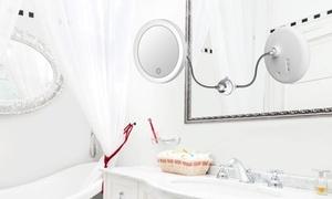 (Beauté)  Miroir grossissant lumineux -44% réduction
