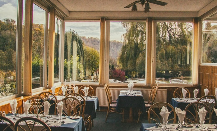 The Wye Valley: 1 to 3 Nights for Two with Breakfast, Wine and Option for Dinner at The Paddocks Hotel