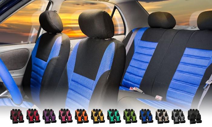 Premium 3D Air Mesh Seat Cover Set