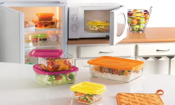 Luminarc Keep N Box Food Storage Container Sets 6 Piece