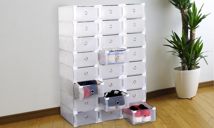 8 Foldable Shoe Boxes ...