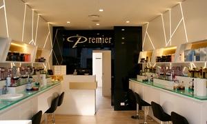 Premier: Fino a 3 trattamenti viso a scelta e bellezza mani con champagne in Vip Room (sconto fino a 86%). Valido in 8 sedi