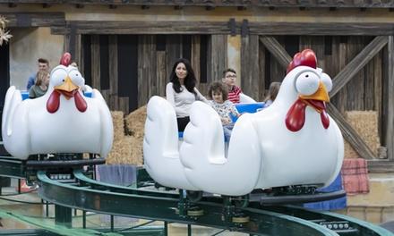 Fico Eatalyworld + Luna Farm: ingresso illimitato fino a 4 persone! Inizia il divertimento! (sconto fino a 50%)