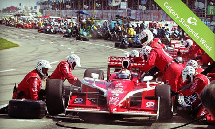 Edmonton Indy presented by Octane Motorsports Events - Edmonton: $109 for a Weekend at the Edmonton Indy at Edmonton City Centre Airport July 20–22 at 9 a.m. ($163.25 Value)