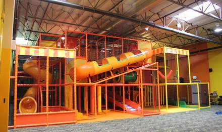 One, Three, or Five Open Jump Play Passes at Party Kingdom (Up to 42% Off)
