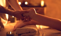 Reflexology Session and Hot Stone Massage at The Buddah Room (52% Off)