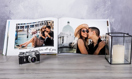 Livre photo A3 personnalisable de 28, 40, 60, 80 ou 100 pages avec Colorland