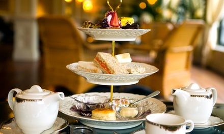 Rustic Afternoon Tea with Wine for Two at Caledonian Hotel (49% Off)