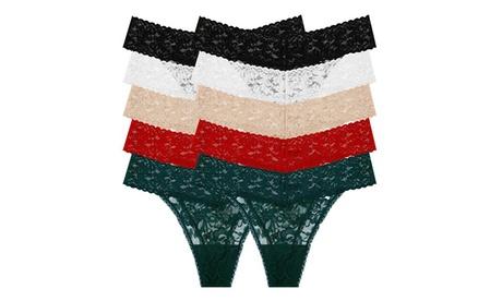Women's Original One Size Lace Thongs (10-Pack) fe4c64b5-507d-434c-a2c5-a49705a6a0d8