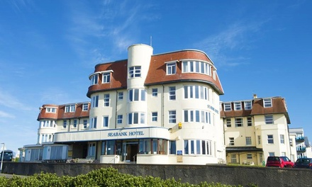 Bridgend: 13 Nights with Breakfast for Two, 3Course Dinner and Wine at Seabank Hotel