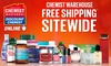 Free Shipping: Chemist Warehouse