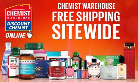 Free Shipping at Chemist Warehouse Online Don't Pay $8.95