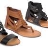 Olivia Miller Women's Gladiator Sandals