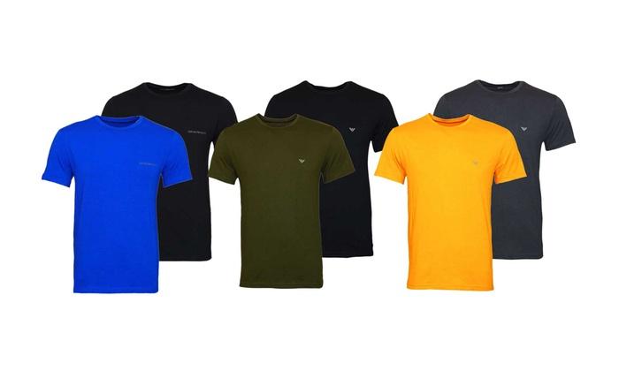 jusqu à 35% T-shirts Emporio Armani   Groupon dcf3a50835c