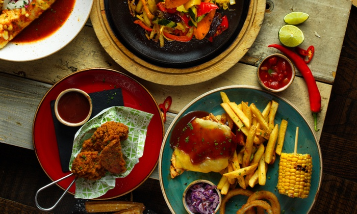 Chiquito: Two-Course Tex-Mex Meal for Two