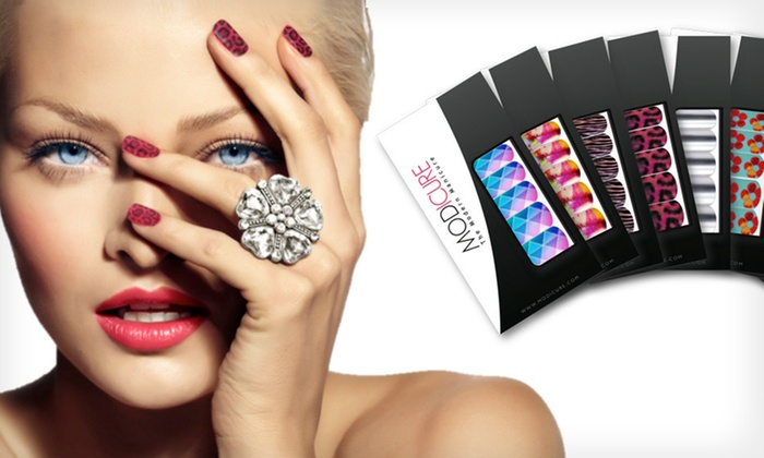 Modicure Nail Wraps: $20 for 10 Modicure Nail Wrap Sets ($120 List Price). Free Shipping.