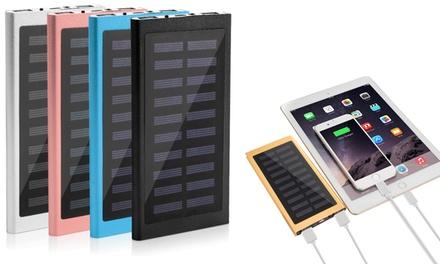 1 o 2 powerbank solari da 20.000 mAh disponibili in 5 colori