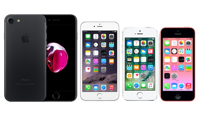 Refurbished Apple iPhone 5, 5C, 5S 6 or 7 With Free Delivery for £99