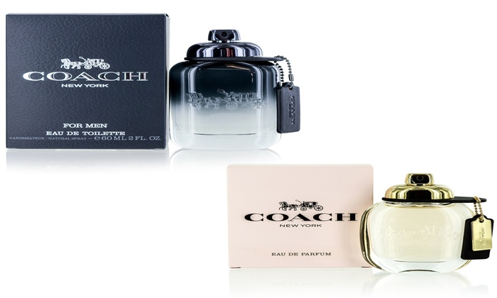 03c685105d65 Coach New York Fragrance for Men or Women (multiple sizes) | Groupon
