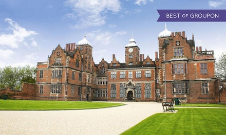 Cream Tea and Guided Tour of Aston Hall for Two or Four (23% Off)