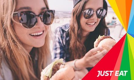 Paga 1,95 € y obtén un descuento de hasta 10 € para un pedido online de comida a domicilio con la App de Just Eat