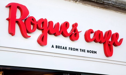 Burger and Fries with Beer or Wine for One, Two or Four at Rogues (Up to 62% Off)