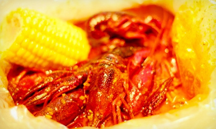 Cajun House - Inner Richmond: Cajun Cuisine and Seafood at Cajun House (Half Off). Two Options Available.