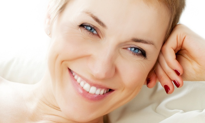 Liebman Wellness Center - Evesham: One or Three Natural Microcurrent Facelifts with Infusion Serum at Liebman Wellness Center (Up to 57% Off)