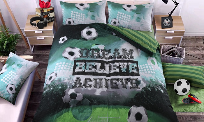 Pieridae Football Reversible Duvet Set from £12
