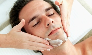 Euro Med Spa: Gentlemen's Facial or Back Facial at Euro Med Spa (Up to 59% Off)