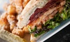 Main Event Sports Grill - Multiple Locations: Upscale Food and Drinks at Main Event Sports Grill (Up to 50% Off). Two Options Available.