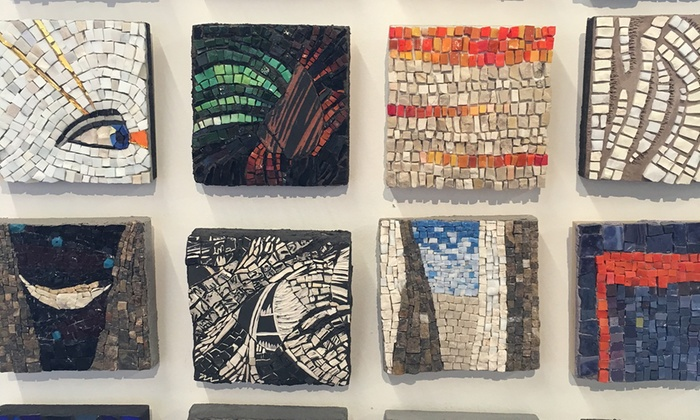 The Chicago Mosaic School - North Center: BYOB Mosaic Basics Workshop for One or Two at The Chicago Mosaic School (Up to 56% Off)