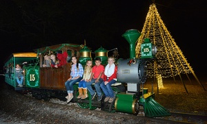Up to 47% Off Entries to The Great Christmas Light Adventure  at Green Meadows Farm, plus 6.0% Cash Back from Ebates.
