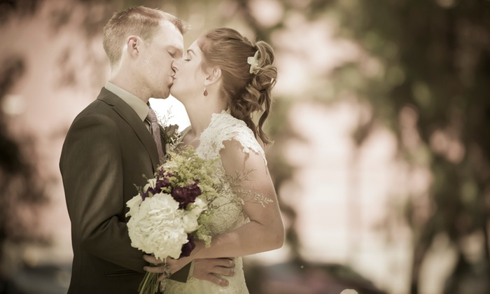 Gold Standard Photography - Melrose: 60-Minute Wedding Photography Package from Gold Standard Photography (84% Off)