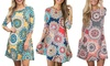 Leo Rosi Women's Maddie Dress. Plus Sizes Available.