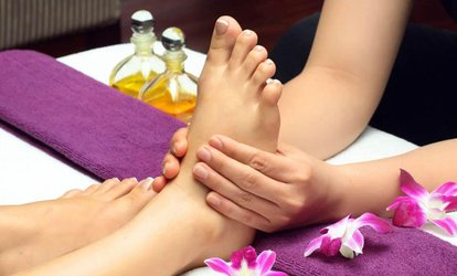 image for One 60-Minute <strong>Foot <strong>Massage</strong></strong> Session with Hot Stones at <strong>Massage</strong> Therapy Works (Up to 58% Off)