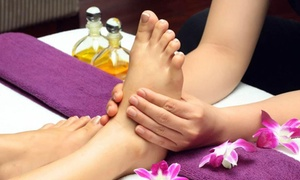 Massage Therapy Works: One or Two 60-Minute Foot Massage Sessions with Hot Stones at Massage Therapy Works (Up to 61% Off)