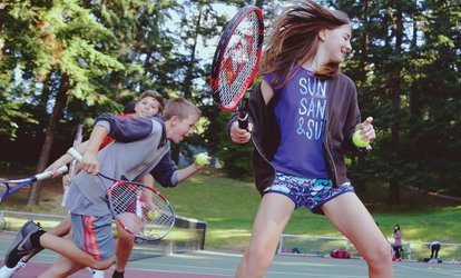 image for One or Three Weeks of Half-Day <strong>Tennis</strong> Camp at RecTennis (Up to 53% Off)