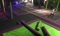 One-Hour Trampoline Park Access for Up to Four at Imagination Street