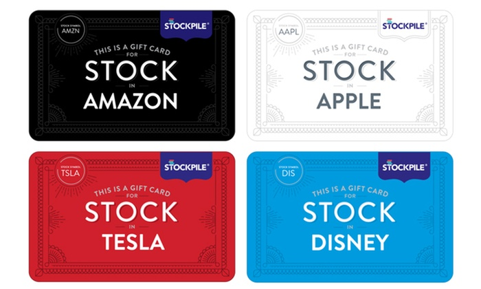 50% Off Stock Gift Cards - Stockpile | Groupon